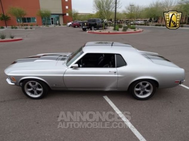 Ford Mustang 1970 Noir Occasion - 4