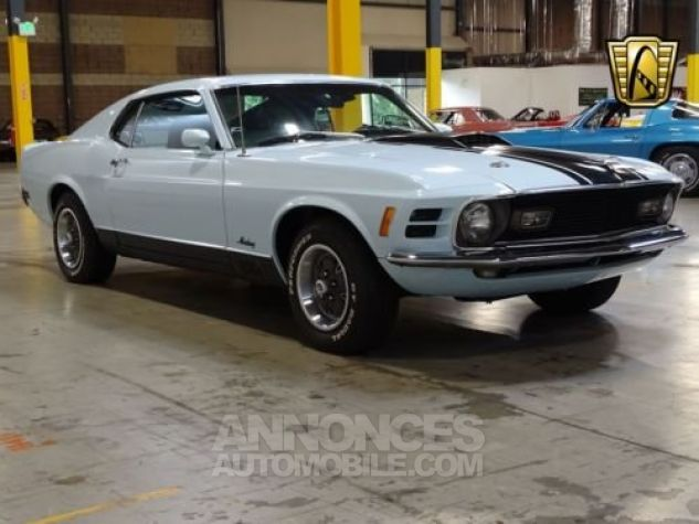 Ford Mustang 1970 Bleu Occasion - 4