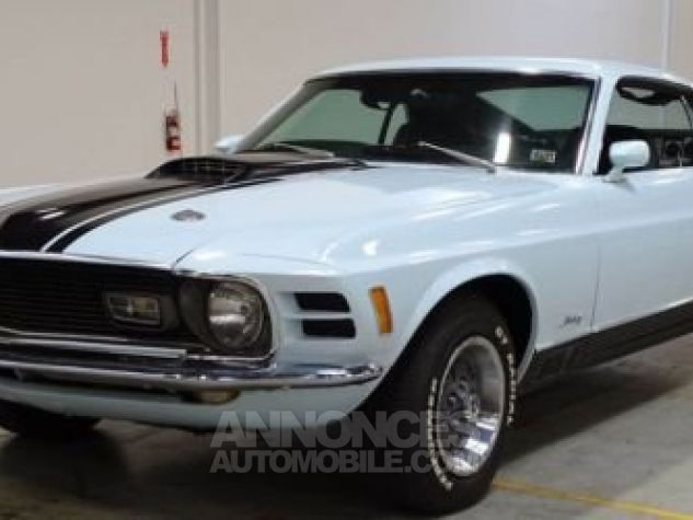 Ford Mustang 1970 Bleu Occasion - 6