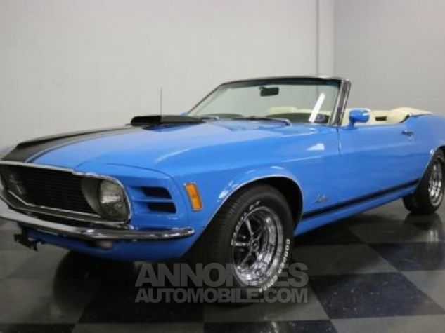 Ford Mustang 1970 Bleu Occasion - 3