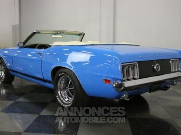 Ford Mustang 1970 Bleu Occasion - 7