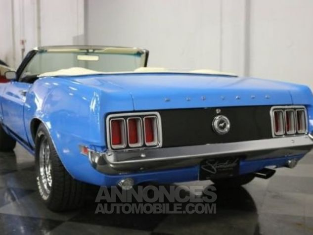 Ford Mustang 1970 Bleu Occasion - 8