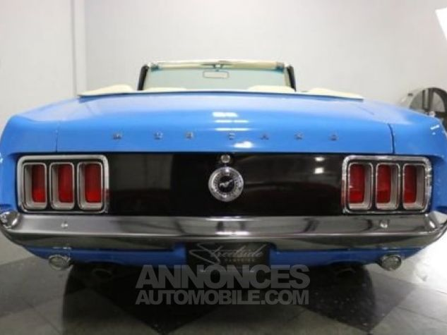 Ford Mustang 1970 Bleu Occasion - 9