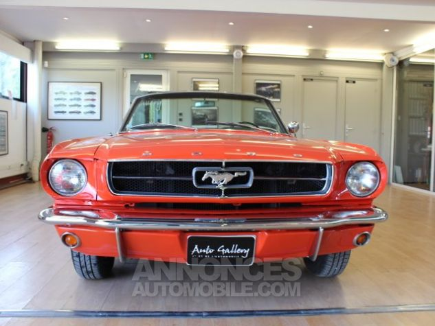Ford Mustang 289 CI CABRIOLET BVA POPPY RED Occasion - 9