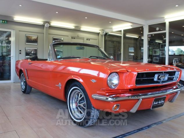Ford Mustang 289 CI CABRIOLET BVA POPPY RED Occasion - 10