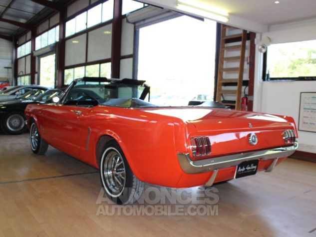 Ford Mustang 289 CI CABRIOLET BVA POPPY RED Occasion - 11