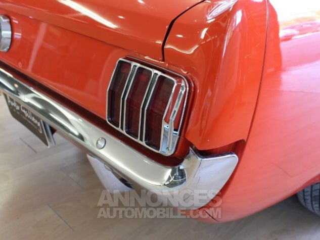 Ford Mustang 289 CI CABRIOLET BVA POPPY RED Occasion - 14