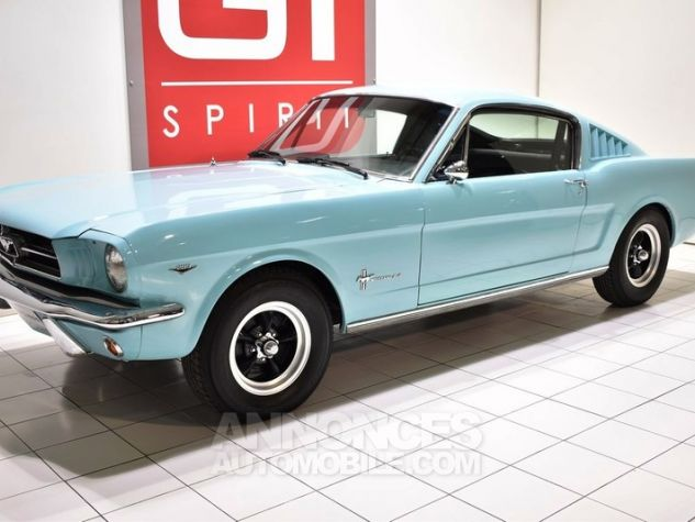 Ford Mustang 289Ci Fastback Tropical Turquoise Occasion - 0