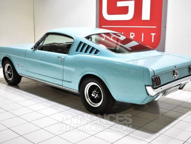 Ford Mustang 289Ci Fastback Tropical Turquoise Occasion - 1