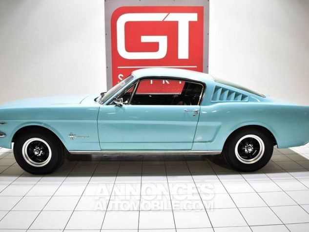 Ford Mustang 289Ci Fastback Tropical Turquoise Occasion - 2