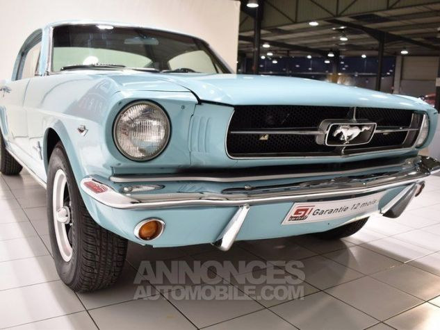 Ford Mustang 289Ci Fastback Tropical Turquoise Occasion - 9