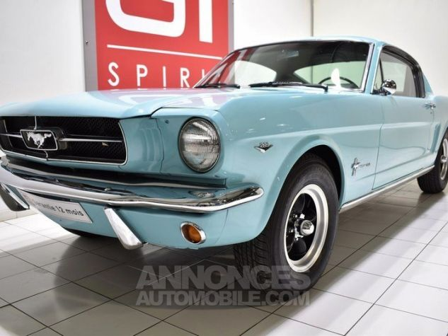 Ford Mustang 289Ci Fastback Tropical Turquoise Occasion - 11