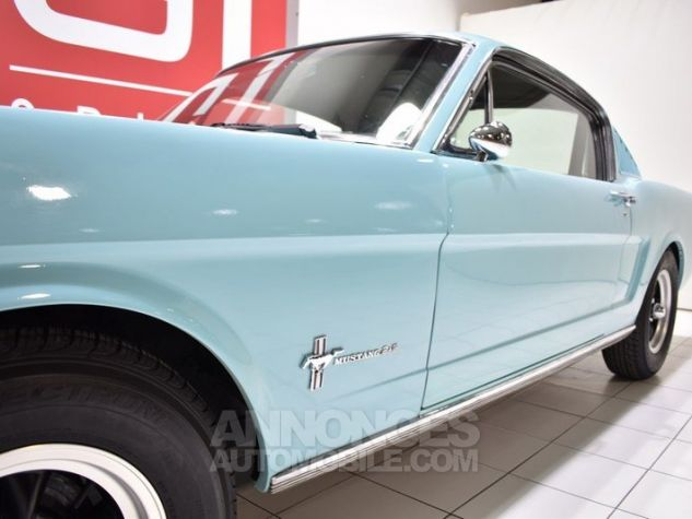 Ford Mustang 289Ci Fastback Tropical Turquoise Occasion - 12