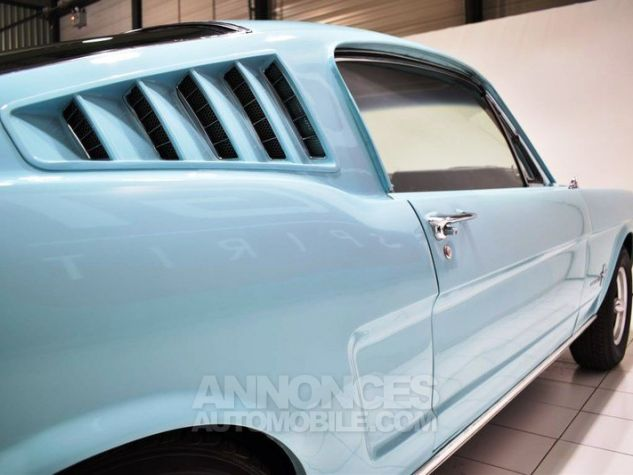Ford Mustang 289Ci Fastback Tropical Turquoise Occasion - 19