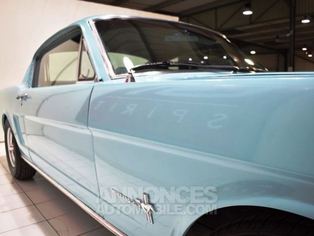Ford Mustang 289Ci Fastback Tropical Turquoise Occasion - 20