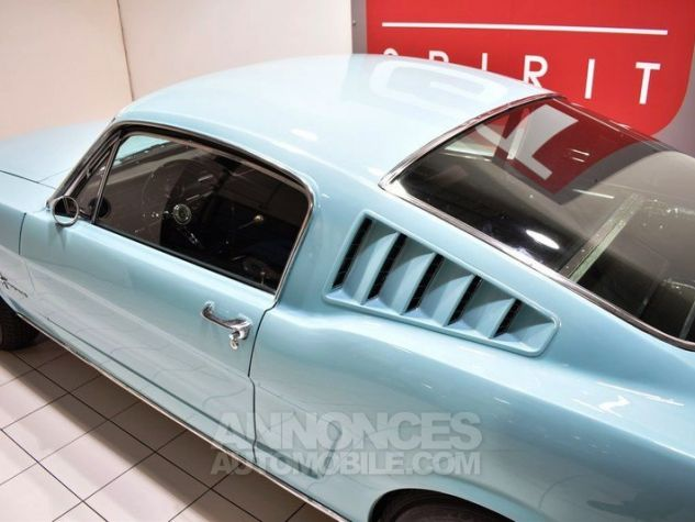 Ford Mustang 289Ci Fastback Tropical Turquoise Occasion - 22