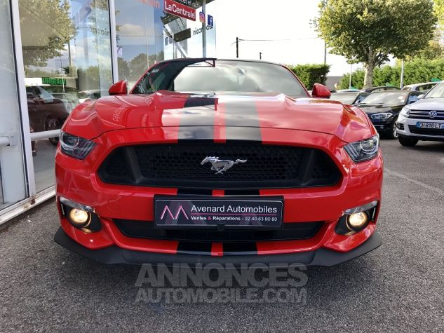 Ford Mustang 5.0 V8 421CH GT Rouge Occasion - 2