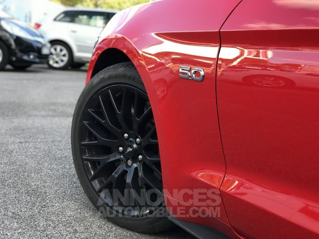 Ford Mustang 5.0 V8 421CH GT Rouge Occasion - 5