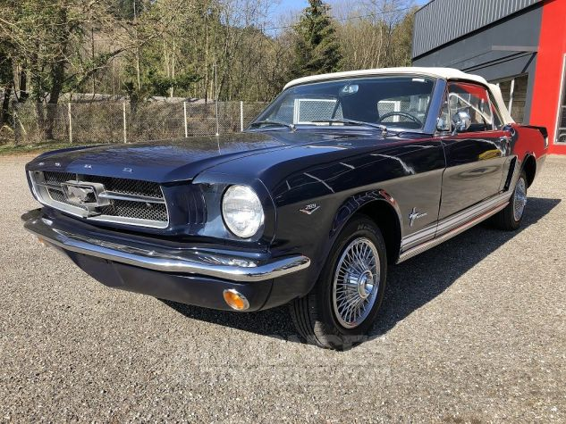 Ford Mustang CABRIOLET BLEU Occasion - 7