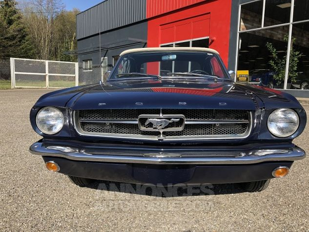 Ford Mustang CABRIOLET BLEU Occasion - 8