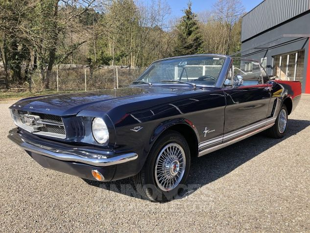 Ford Mustang CABRIOLET BLEU Occasion - 9