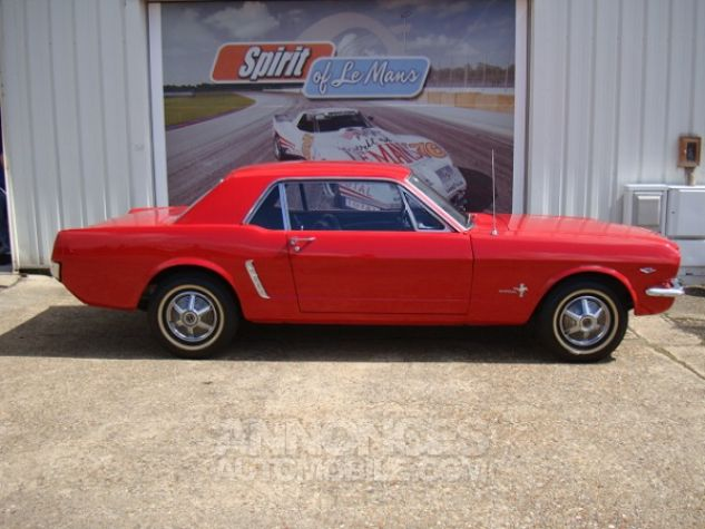 Ford Mustang coupe 1965 Rouge Occasion - 1