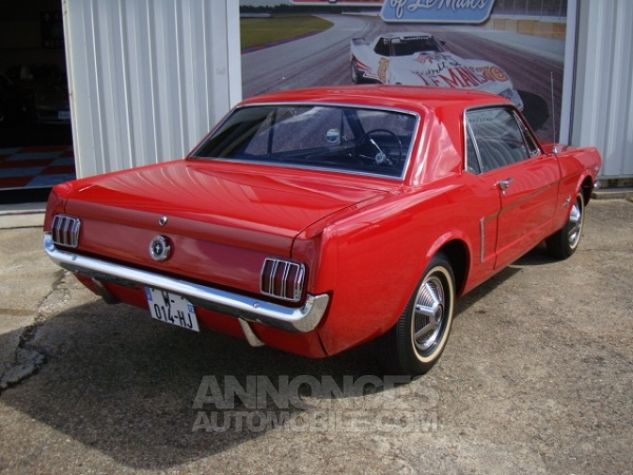 Ford Mustang coupe 1965 Rouge Occasion - 20