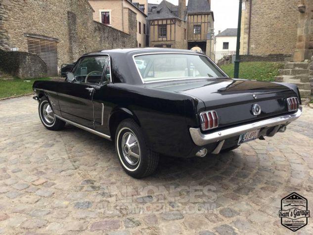 Ford Mustang Coupé V8 289 BVA Noir Occasion - 3