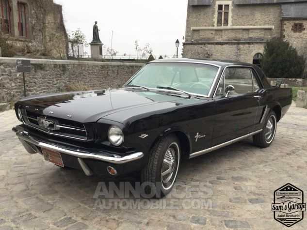 ford mustang coup v8 289 bva noir occasion laval 53 mayenne n 3591035 annonces automobile. Black Bedroom Furniture Sets. Home Design Ideas
