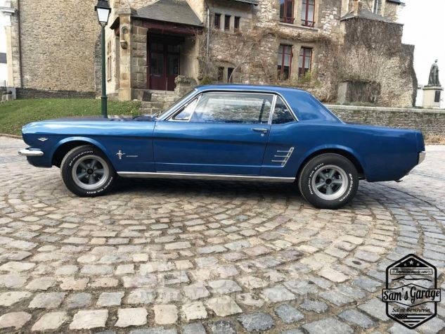 Ford Mustang Coupé V8 289 BVA Bleu Occasion - 2