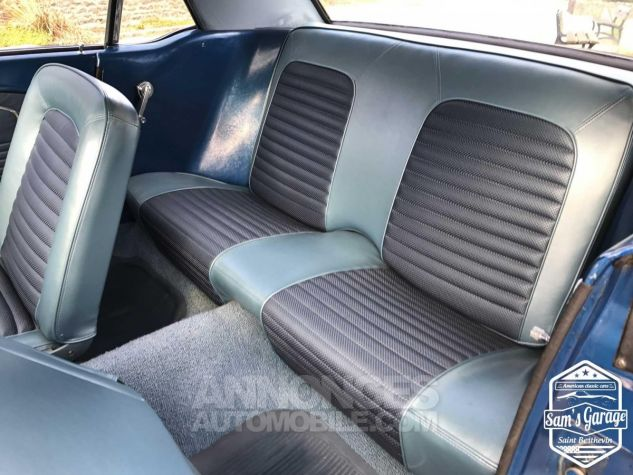 Ford Mustang Coupé V8 289 BVA Bleu Occasion - 15