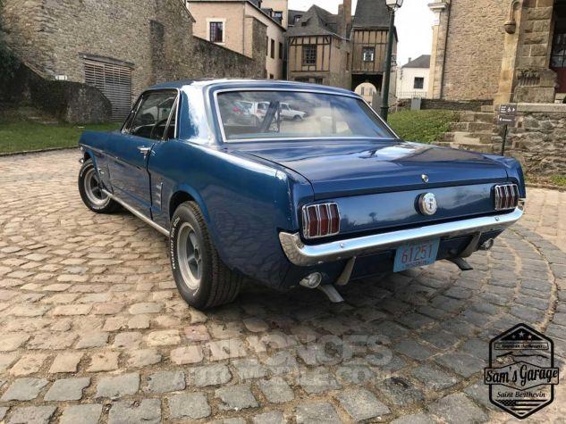 Ford Mustang Coupé V8 289 BVA Bleu Occasion - 17