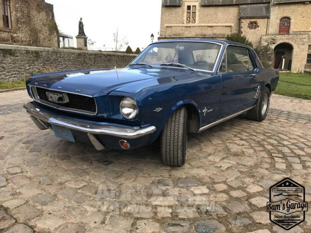 Ford Mustang Coupé V8 289 BVA Bleu Occasion - 18