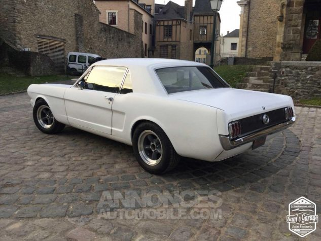 Ford Mustang Coupé V8 Code A 289 HOT ROD Blanc Mat Occasion - 3