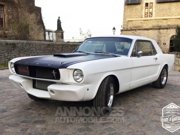 Ford Mustang Coupé V8 Code A 289 HOT ROD Blanc Mat Occasion - 5