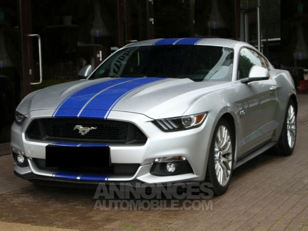 Ford Mustang GT Supercharged Magnetic ride - ROUSH Mustang 670CH 19' Gris Argent Clair Occasion - 1