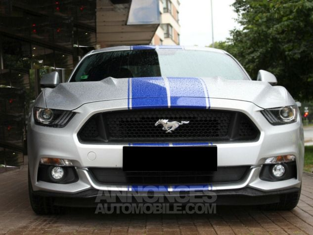 Ford Mustang GT Supercharged Magnetic ride - ROUSH Mustang 670CH 19' Gris Argent Clair Occasion - 3