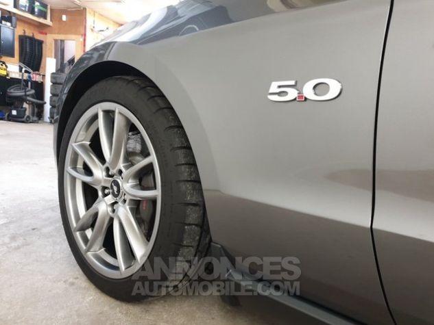 Ford Mustang GT V8 50L TRACK PACK 31800KM gris anthracite métallisé Occasion - 4