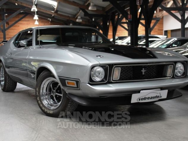 Ford Mustang MACH 1 351 CI CLEVELAND V8 Q-CODE GRIS Occasion - 0