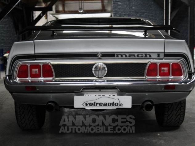 Ford Mustang MACH 1 351 CI CLEVELAND V8 Q-CODE GRIS Occasion - 4
