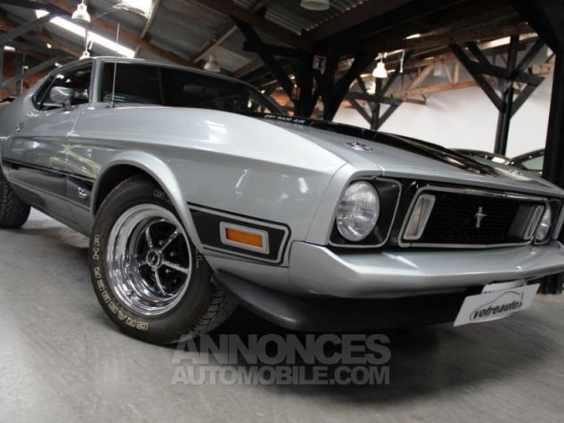 Ford Mustang MACH 1 351 CI CLEVELAND V8 Q-CODE GRIS Occasion - 6
