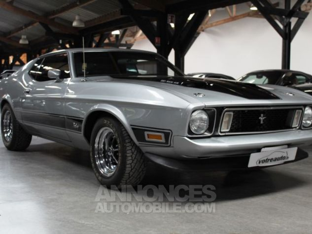 Ford Mustang MACH 1 351 CI CLEVELAND V8 Q-CODE GRIS Occasion - 8