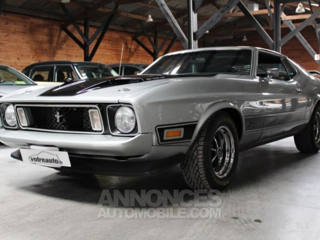 Ford Mustang MACH 1 351 CI CLEVELAND V8 Q-CODE GRIS Occasion - 9