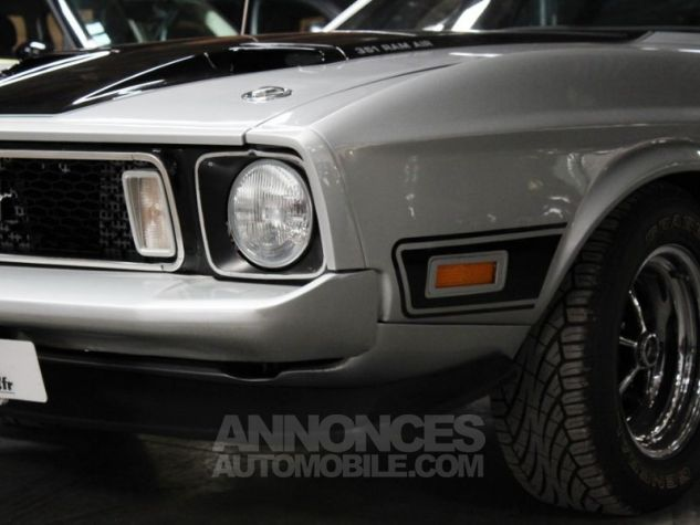 Ford Mustang MACH 1 351 CI CLEVELAND V8 Q-CODE GRIS Occasion - 10
