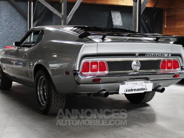 Ford Mustang MACH 1 351 CI CLEVELAND V8 Q-CODE GRIS Occasion - 11