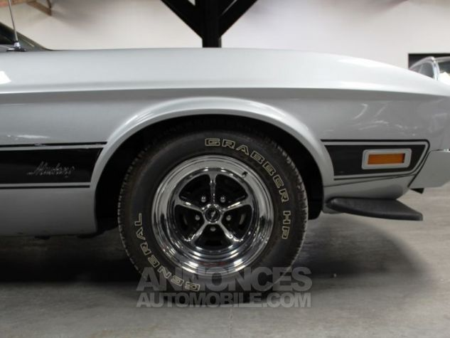 Ford Mustang MACH 1 351 CI CLEVELAND V8 Q-CODE GRIS Occasion - 13