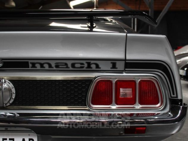 Ford Mustang MACH 1 351 CI CLEVELAND V8 Q-CODE GRIS Occasion - 19