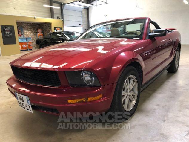 Ford Mustang V6 AUTOMATIQUE 4,0L Bordeaux Métallisé Occasion - 0