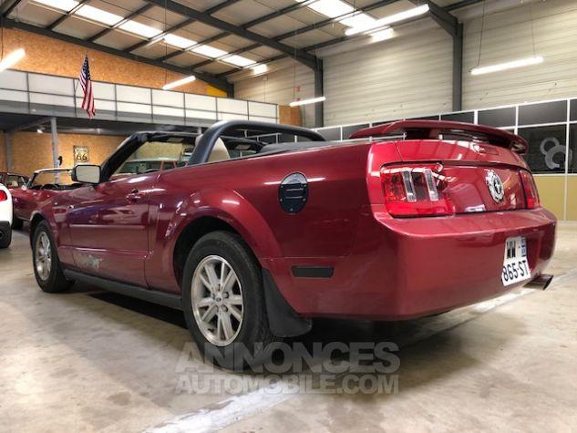 Ford Mustang V6 AUTOMATIQUE 4,0L Bordeaux Métallisé Occasion - 1