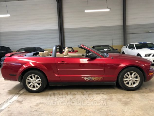 Ford Mustang V6 AUTOMATIQUE 4,0L Bordeaux Métallisé Occasion - 4